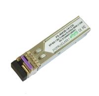 155M BIDI SFP 60km 1310nm TX / 1490nm RX Cisco Compatible Optical Transceiver