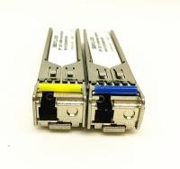 155M BIDI SFP 20km 1310nm TX / 1550nm RX Cisco Compatible Optical Transceiver